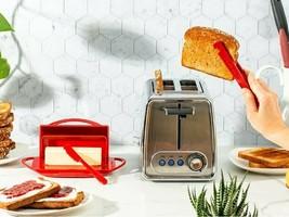 Butter Dish & Toast Tongs Set - $25.47