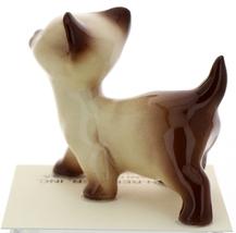 Hagen-Renaker Miniature Cat Figurine Siamese Large Kitten on Back and Walking image 7