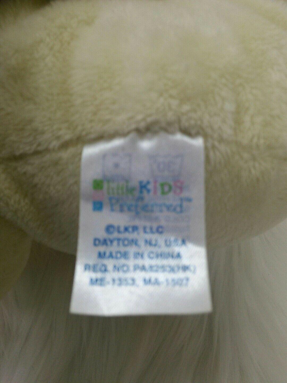 Kids Preferred Bear w Baby Hand Rattle Lovey Yellow Lovey Plush Stuffed Toy B205 image 4