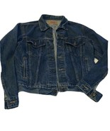 Men's Size 40 Levi Strauss Levi's Denim Blue Jean Jacket Made in USA 71506 90's - $80.00