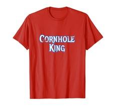 Dad Shirts - Cornhole King Funny Dad Fathers Dad T-Shirt Bar Beer Toss Men - $19.95+