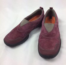 Merrell Albany Moc Zinfandel Suede Slip On Loafers Shoes Womens Size 10 - $25.23