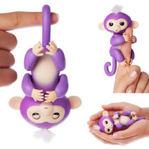 Finger Monkey Interactive Toy Pet PURPLE  *FAST SHIPPING* , - $19.99