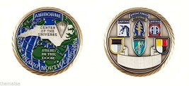 ARMY FORT BRAGG AIRBORNE SPECIAL FORCES STAND IN THE DOOR CHALLENGE COIN - $16.24