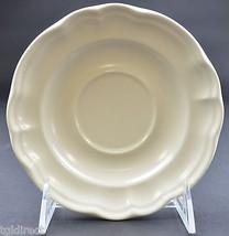 "Pfaltzgraff Tea Rose Pattern Flat Cup Saucer 5.75"" Wide China Dinnerware Decor - $7.99"