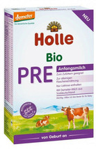 Holle Pre Organic Baby Formula, 0-6 months, 400g 06/2020 FREE SHIPPING 6... - $143.95