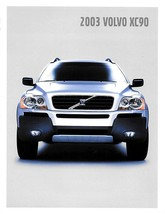 2003 Volvo XC90 sales brochure catalog 03 US 2.5T T6 - $10.00