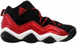 Adidas Top Ten 2000 Black/Light Scarlet-Running White G20328 Men's Size UK 11.5 - $106.94