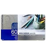 VAN GOGH ROYAL TALENS Color Pencils Complete 60 Colors Set T9773-0065 - $90.11