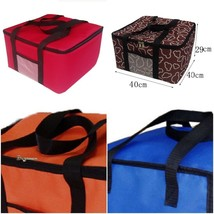 12 Inch Insulated Pizza Bag Promotional Large Thermal Cooler Food Container - €27,57 EUR