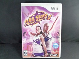 NINTENDO WII ALL STAR CHEER SQUAD 2 II COMPLETE TESTED WORKS FUN - $3.95