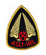 United States ARMY 181st Assault Helicopter Company Military Patch ASLT-... - $11.87