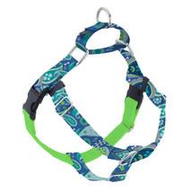 2Hounds Freedom No Pull Dog Harness Medium Paw Paisley WITH Training Leash!   image 1