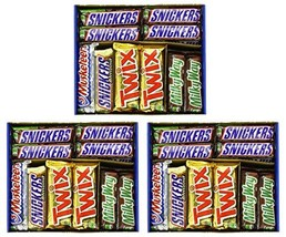 Mars HASaQG Chocolate Bar Variety Pack, 55 Ounce, 30 Count 3 Pack - $93.87