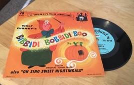 1963 Disneyland Record Bibbidi-Bobbidi-Boo 78rpm - $9.49
