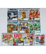 ALLRECIPES MAGAZINES LOT 9 ISSUES 2020 2019 THANKSGIVING CHRISTMAS ALL RECIPES - $14.84