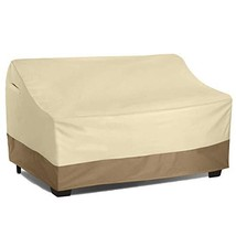 Vanteriam Waterproof Bench/Loveseat Cover, Large Outdoor Furniture Cover... - $26.41