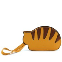Resting Cat Coin Purse in Vinyl Material - $22.99