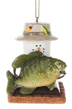 S'mores with Fish Ornament - $7.87