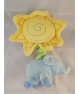 Carter's Child Of Mine ELEPHANT & SUN Crib Musical Plush Lullaby Stuffed... - $7.95