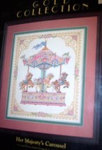 Dimensions Gold Collection Her Majesty's Carousel Counted Cross Stitch Kit - $127.71