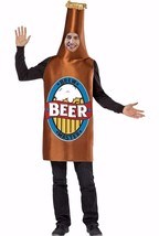 Brew Master Beer Bottle Foam Costume Disguise Adult Man One Size Funny U... - £14.43 GBP