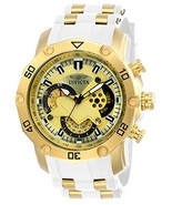 Invicta Men's 'Pro Diver' Quartz Stainless Steel and Silicone Casual Wat... - $2.783,08 MXN