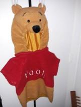 Winnie The Pooh Bear 2-4T Child Costume Plush - $25.69