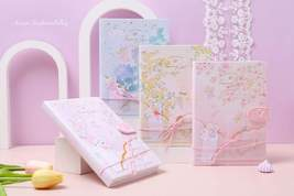 Fairy and Flower Notebook Journal Japanese Style Hardcover Diary Books W... - $23.99+