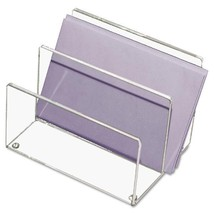 Kantek Clear Acrylic Mini Sorter, Two Sections, 6 X 4 X 4 inches - €26,65 EUR