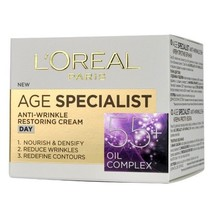 L'Oreal Age Specialist Day Face Cream 55+ Anti-Wrinkle & Lifting Effect-... - $12.19
