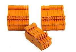 LOT OF 25 NEW WEIDMULLER ZDU-2.5 TERMINAL BLOCKS ZDU25, 800V, 8KV, 24AMP