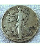 1943 Walking Liberty 50 Cents Silver Coin Very Nice! - $14.00