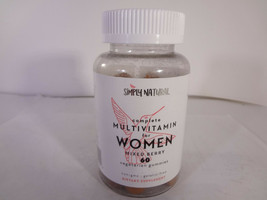 Simply Natural Complete Multivitamin for Women Mixed Berry 60 Gummies {V... - $17.77