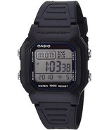 Casio Men's W800H-1AV Classic Sport Watch With Black Band - $36.18 CAD