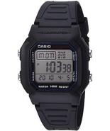Casio Men's W800H-1AV Classic Sport Watch With Black Band - £20.95 GBP
