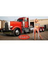 Peterbilt 379, 359, Semi Truck garage wall man cave Vinyl Banner - Semi ... - $34.64