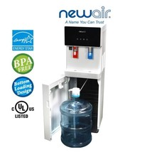 Water Dispenser Hot Cold Bottom Load White NewAir Pure Spring WAT40W BPA... - $321.70
