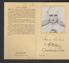 Elizabeth Arden 1931 Steps in Loveliness Brochu... - $15.02