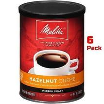 Melitta Ground Coffee Hazelnut Creme 11oz can (6 pack) Medium Roast Fine Grind - $49.90