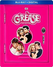 The Grease Collection Steelbook (Blu-ray+Digital) image 1