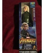 "MARVEL Avengers Infinity War Black Widow Titan Hero Series 12"" Figure.NEW - $49.38"