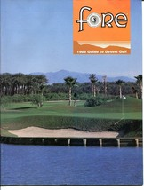FORE MAGAZINE 1988 GUIDE TO DESERT GOLF-MISSION HILLS  EX - $25.22