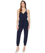 Vince Camuto Strappy Jumpsuit with Elastic Legs and Tie Waist, size 2P #... - $69.00