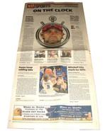 12.8.2011 St Louis POST-DISPATCH Newspaper SPORTS Albert Pujols MLB Bidd... - $14.99