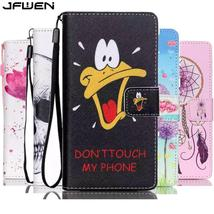 For Huawei P8 Lite 2016 Case Leather Book Style Flip Wallet Painted Case Cover F - $13.41
