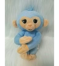 "10"" Fingerlings Baby Monkey Blue w Sound Bendable Arms & Legs Plush Toy B215 - $12.99"