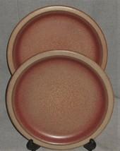 RARE Set (2) Universe Ceramics HEATH POTTERY MOLD Dinner Plates LOS ANGELES - $197.99
