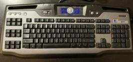 Logitech G11 Gaming Keyboard Wired USB Y-UG75A Retro Lighted Black - $28.04