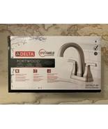 "Delta Portwood 4"" Centerset Bathroom Faucet Brushed Nickel #25770LF-SP (... - $74.50"